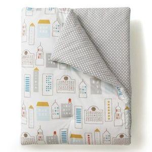 NEW DwellStudio NY Skyline Toddler Nursery Blanket
